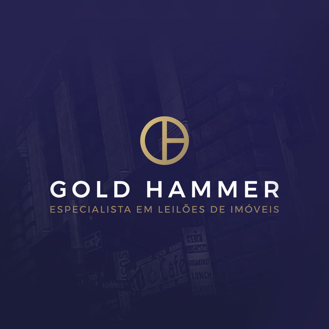 Item Portfolio | Gold Hammer - Naming, Logo